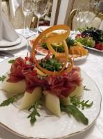 Prosciutto cu pepene galben