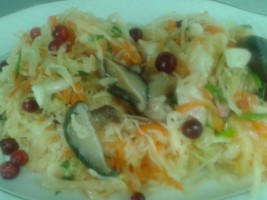 Salata de varza murata cu rachitele