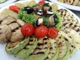 Asorti din legume coapte la grill