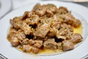 Tocaniţa din carne de porc