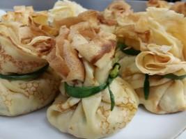 Clatite cu fileu de gaina si ciuperci