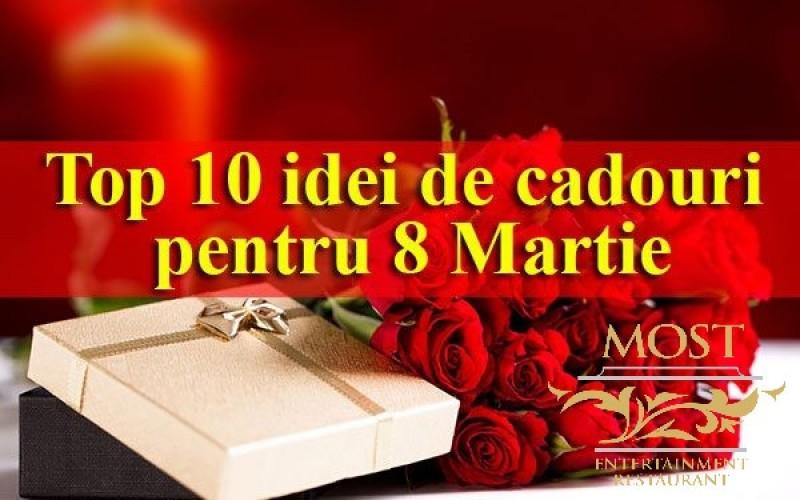 Top 10 idei de cadouri pentru 8 Martie