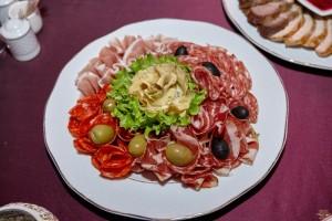 Platou din carnuri italiene