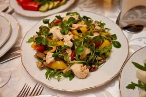Salata gurman cu fileu de pui