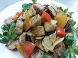 Salata cu bujenita si legume